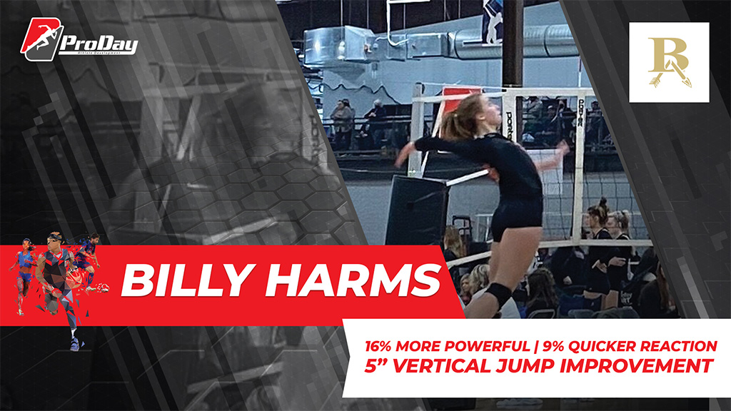 Poster Athelete Improvement Billy Harms Version 3 Pro Day Sports