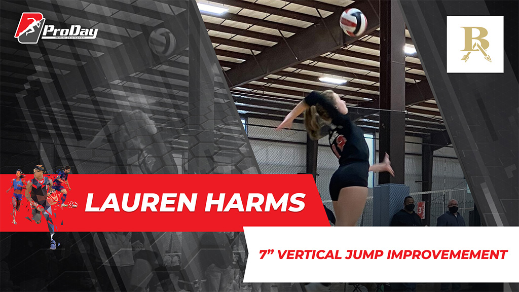 Poster Athelete Improvement Lauren Harms Version 3 Pro Day Sports