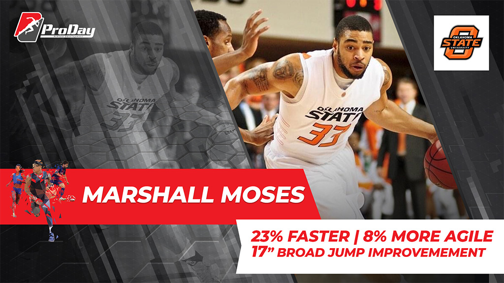 Poster Athelete Improvement Marshall Moses Version 3 Pro Day Sports